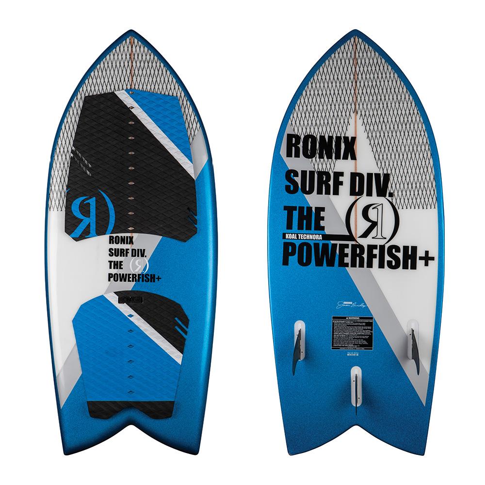 Ronix Wakesurf Koal Powerfish Technora 2018 Ober- und Unterseite