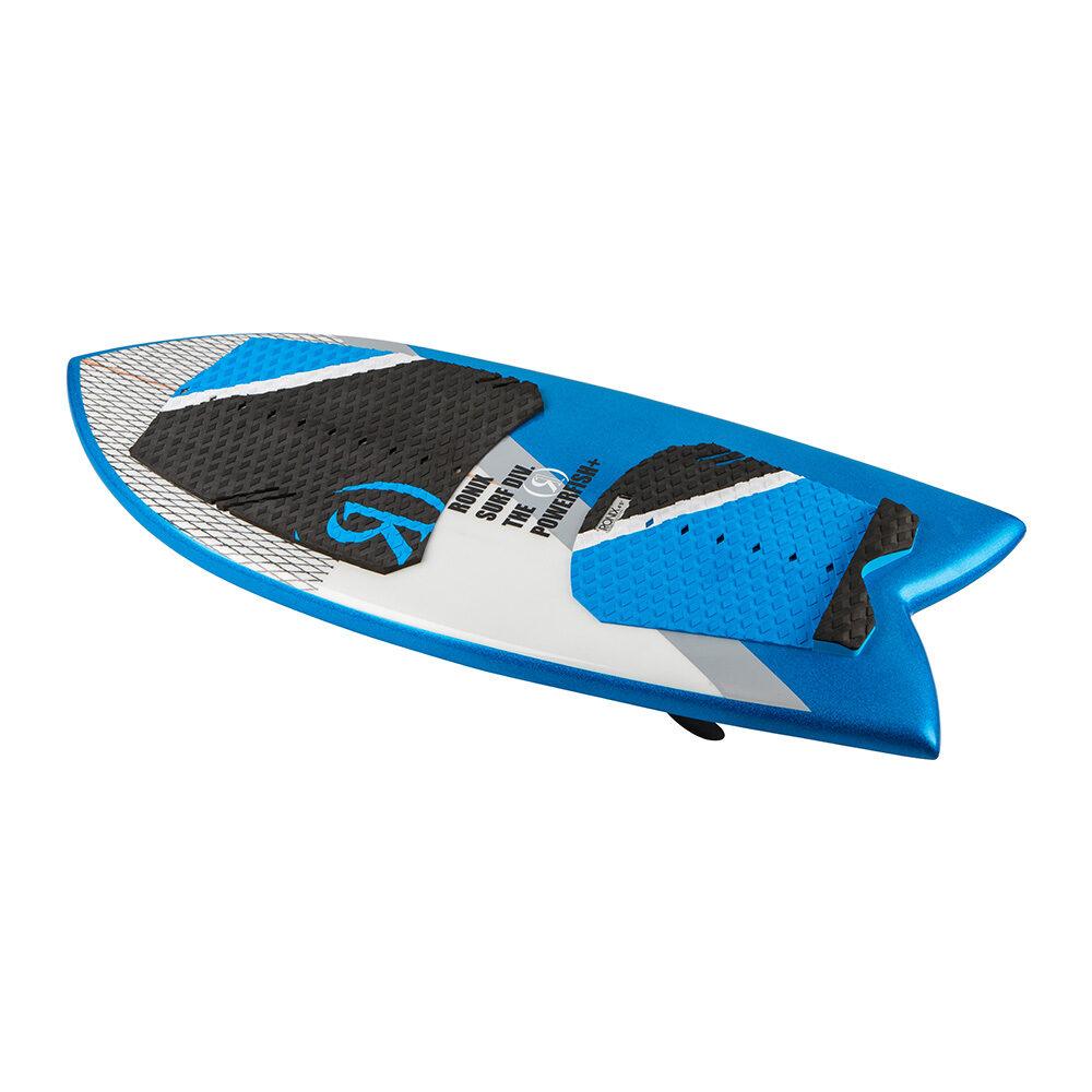 Ronix Wakesurf Board Koal Powerfish Technora 2018 Oberseite angewinkelt