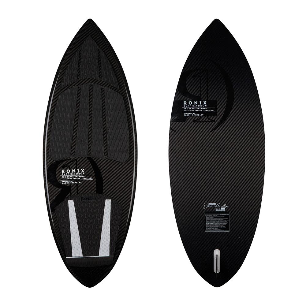 Ronix Wakesurf Board Skate Skimmer Carbon Air Core 3 2018 Ober- und Unterseite
