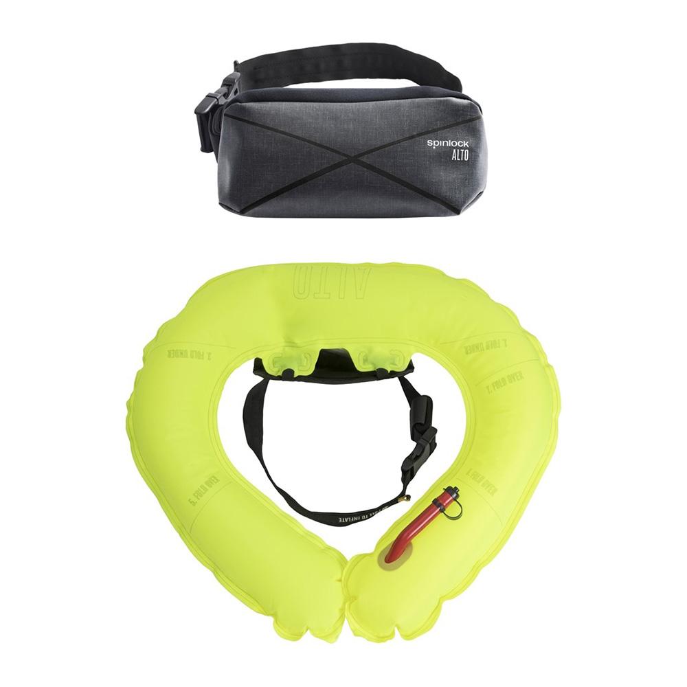Spinlock Alto Weste Belt Pack 2019 Vorderseite und Tasche