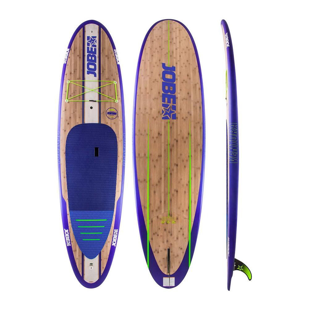 Jobe SUP Ventura Bamboo 2019 Ober- und Unterseite