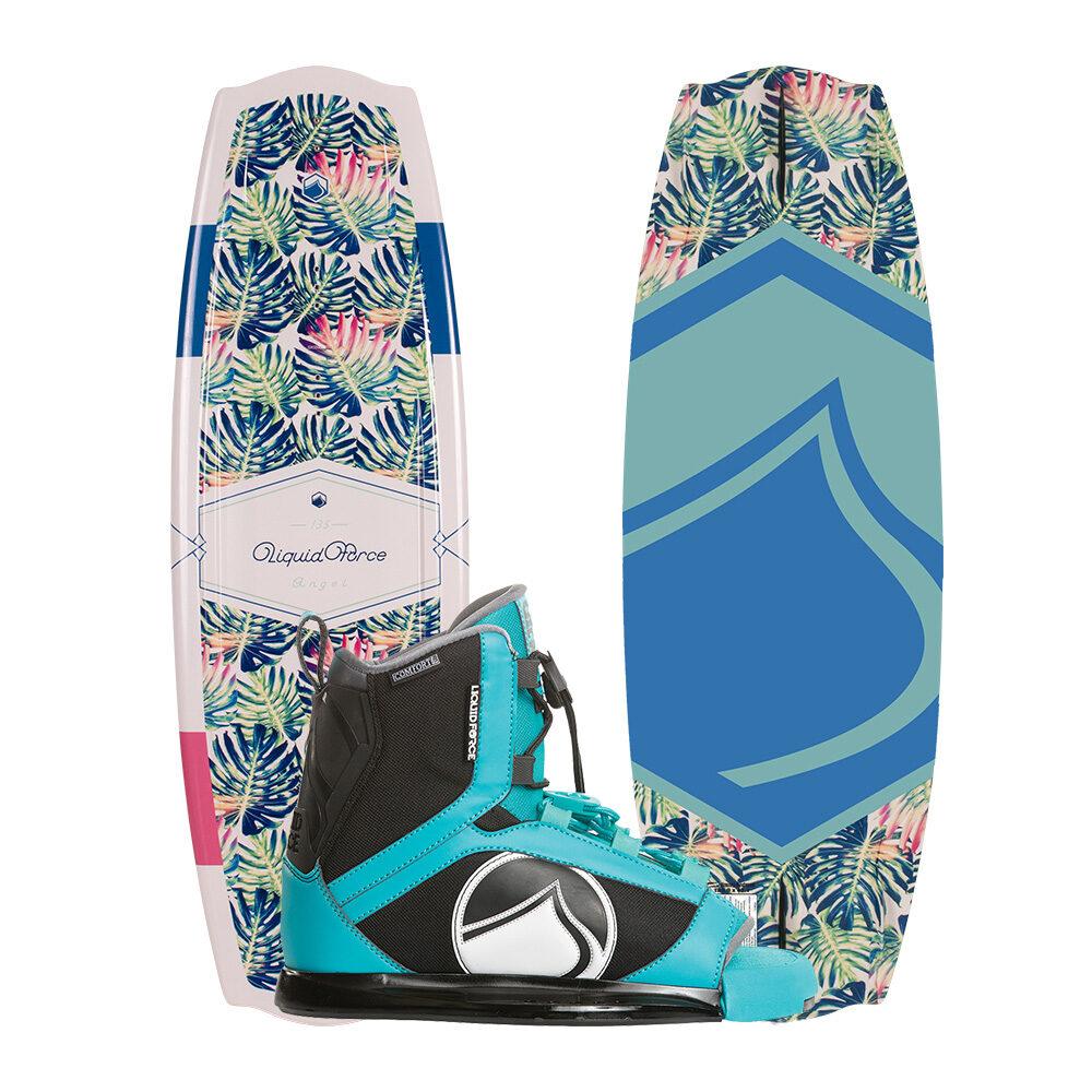 Liquid Force Wakeboard Angel 135cm und Plush Bindung 2019 Combo