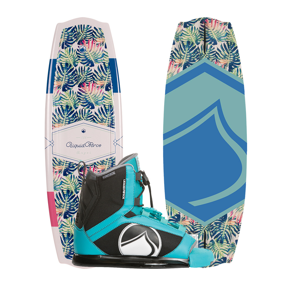 Liquid Force Wakeboard Angel 135cm und Plush Bindung 2019 Combo