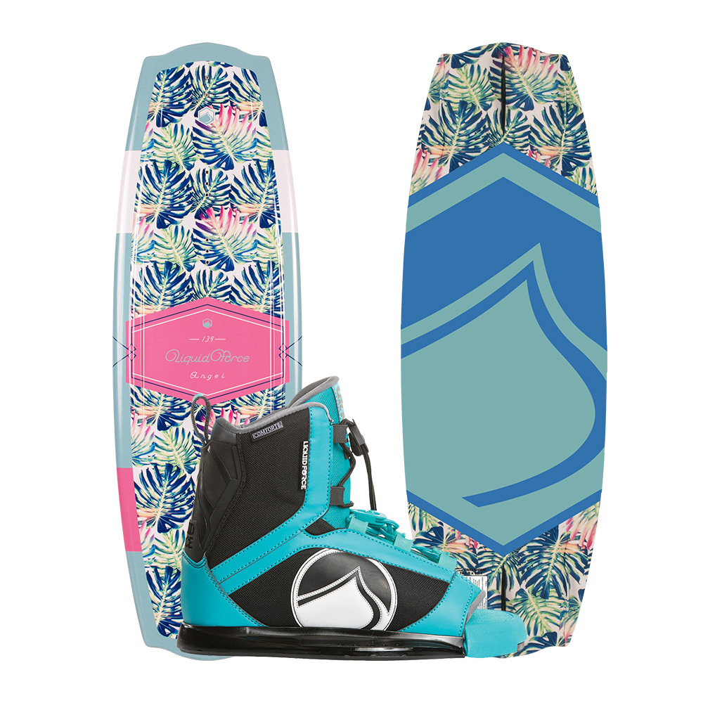 Liquid Force Wakeboard Angel 139cm und Plush Bindung 2019 Combo