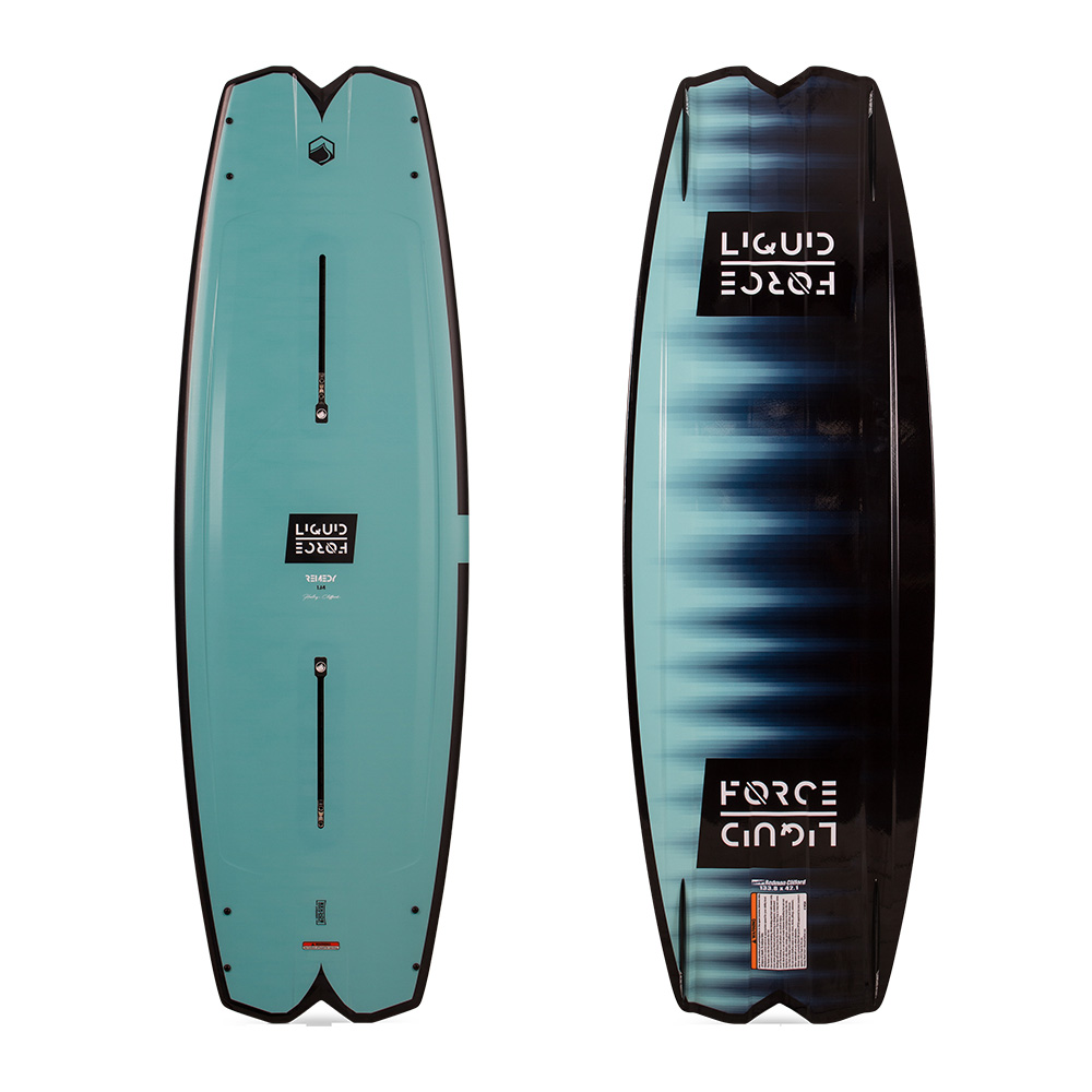Liquid Force Wakeboard Remedy 134cm 2019 Ober- und Unterseite