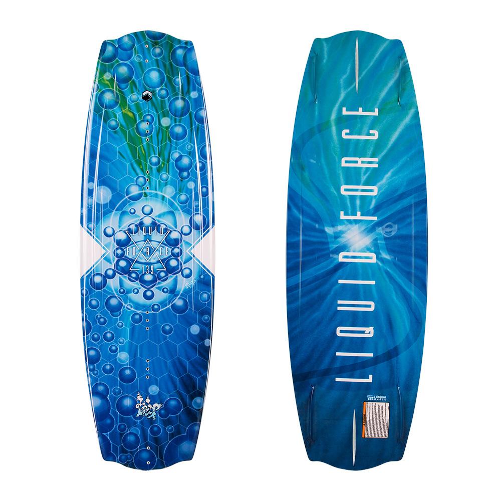 Liquid Force Wakeboard Trip 139cm 2019 Ober- und Unterseite