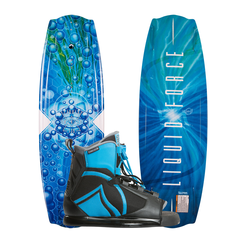 Liquid Force Wakeboard Trip 139cm und Index Bindung 2019 Combo