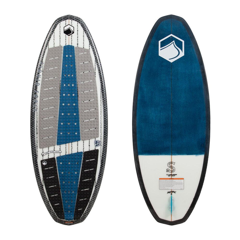 Liquid Force Wakesurf Board Super Tramp 2018 Ober- und Unterseite