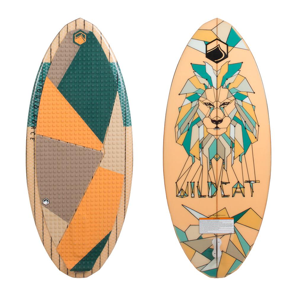 Liquid Force Wakesurf Board Wildcat 2018 Ober- und Unterseite